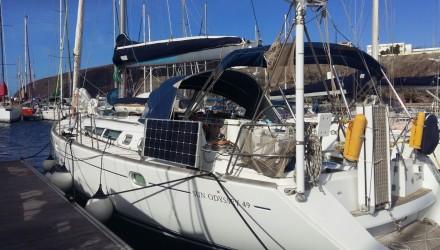 26/11/2015,  partenza da Fuerteventura alla volta dei Caraibi